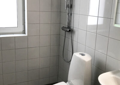 Sållet badrum